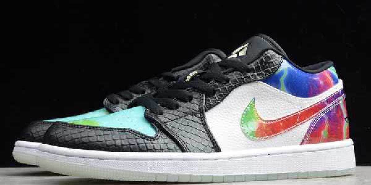 Nike Air Jordan 1 Low Galaxy 2020 CW7309-090 For Sale Online