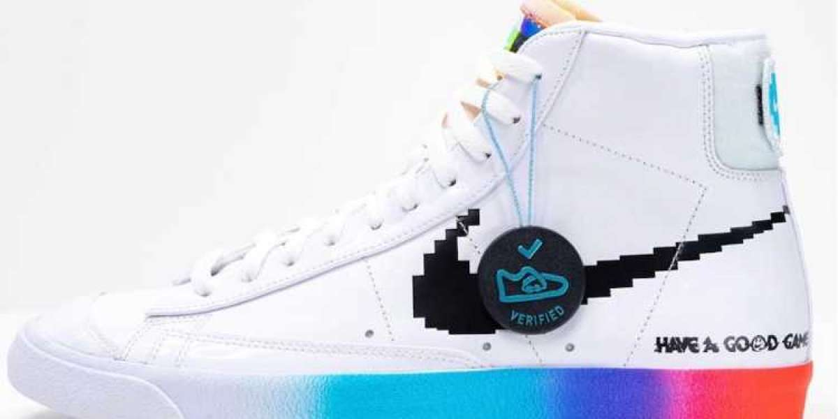 The sneakers also have video game skins! This pair of Blazer Mid must have a lot of people wanting