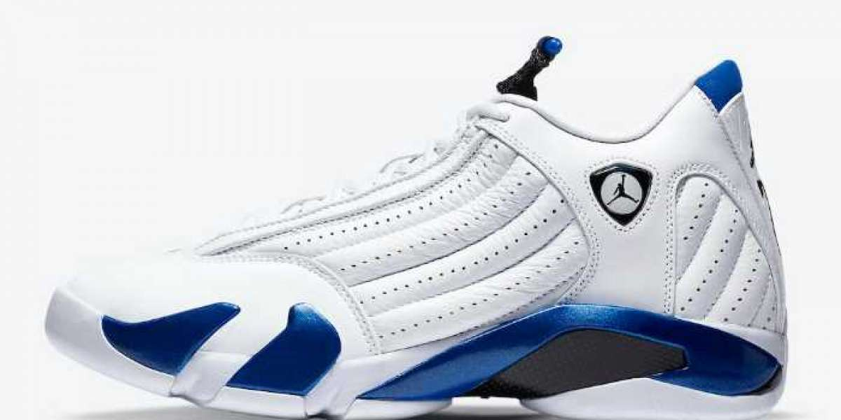 "2020 Latest Air Jordan 14 ""Hyper Royal""487471-104 Release On September 19"