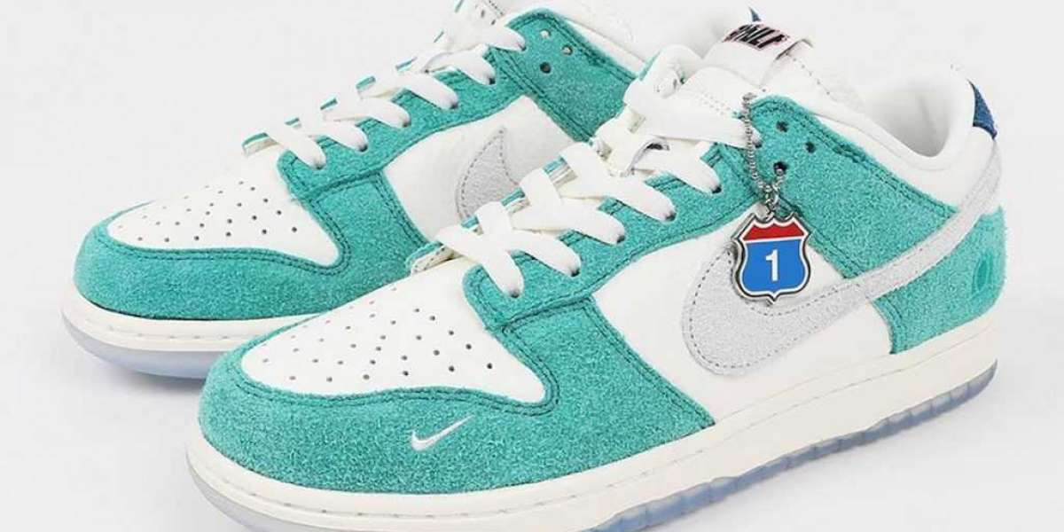"""CZ6501-101 Kasina x Nike Dunk Low """"Neptune Green"""" to release on September 18, 2020"""