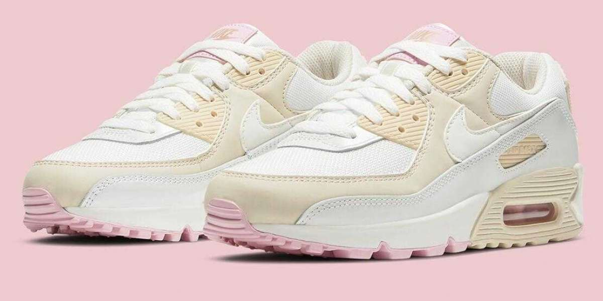 2020 Nike Air Max 90 Summit White Bronze Pink for Sale