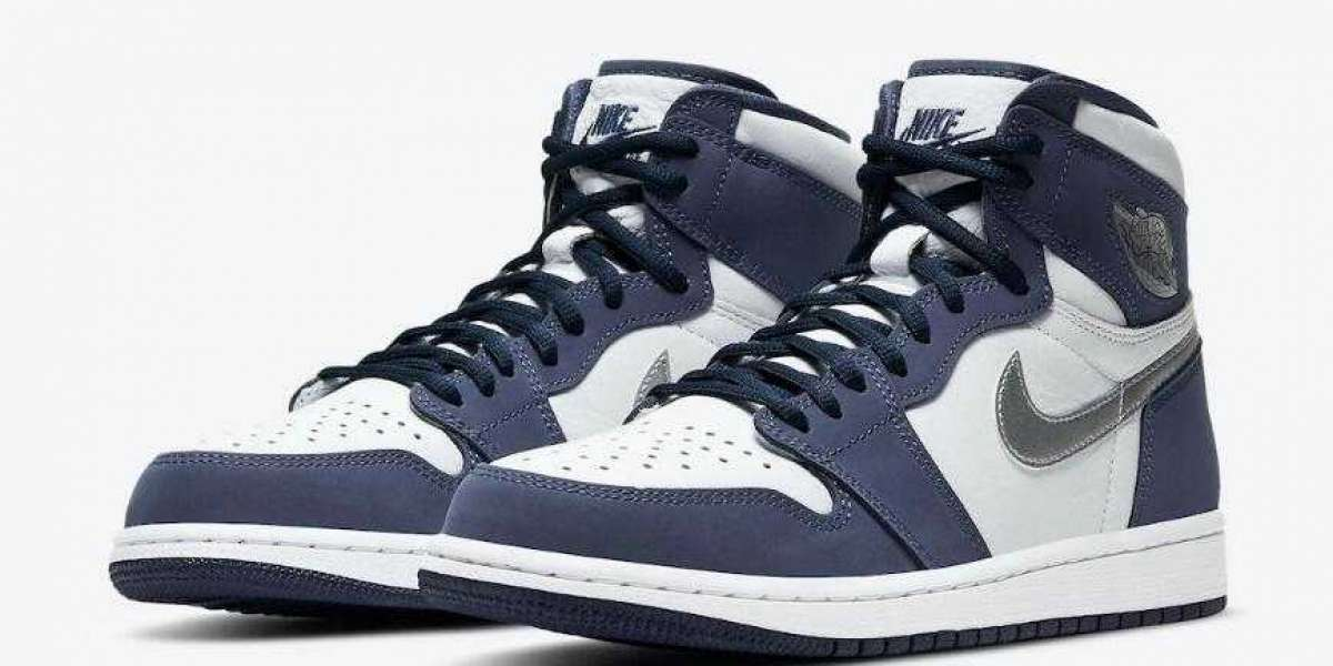 Buy Best Price Air Jordan 1 High CO.JP Midnight Navy Basketball Shoes