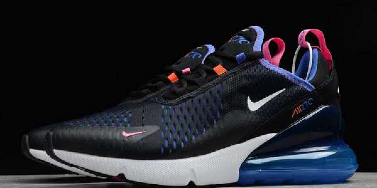 Nike Air Max 270 Black Astronomy Blue 2020 New Released DC1858-001