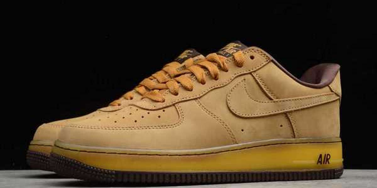 "Nike Air Force 1 Low SP ""Wheat Mocha"" Wheat/Dark Mocha 2020 DC7504-700 Hot Sell"