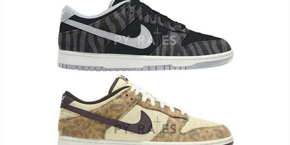 """Fashion Nike Dunk Low """"Animal Pack"""" Sneakers Reportedly Releasing in 2021"""