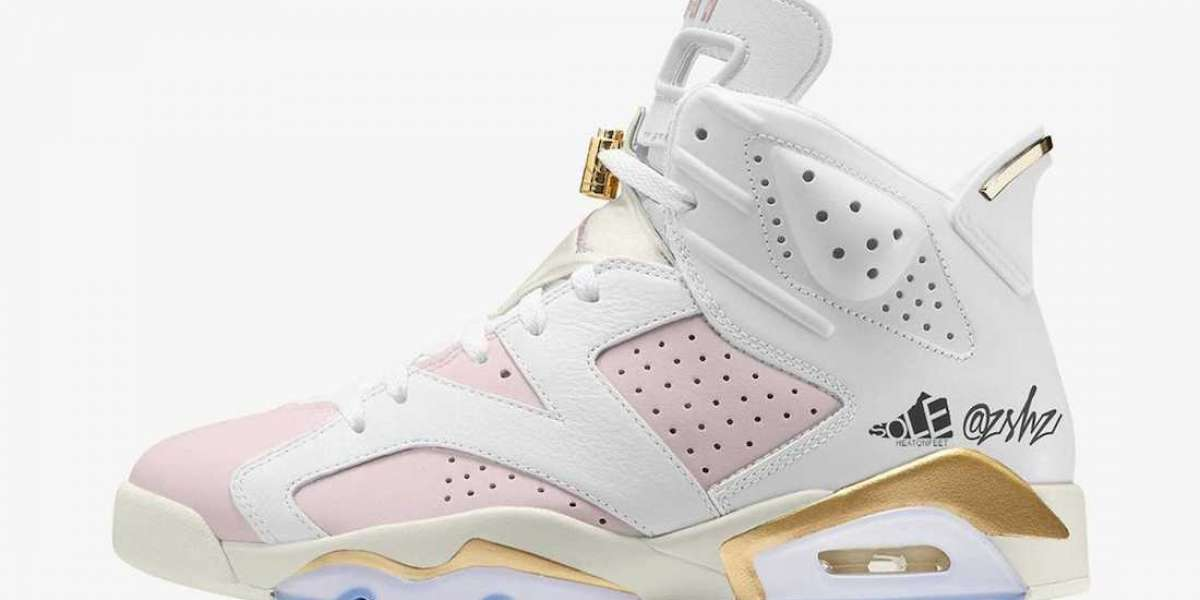 "DH9696-100 Air Jordan 6 WMNS ""Barely Rose"" will release during July 2021"