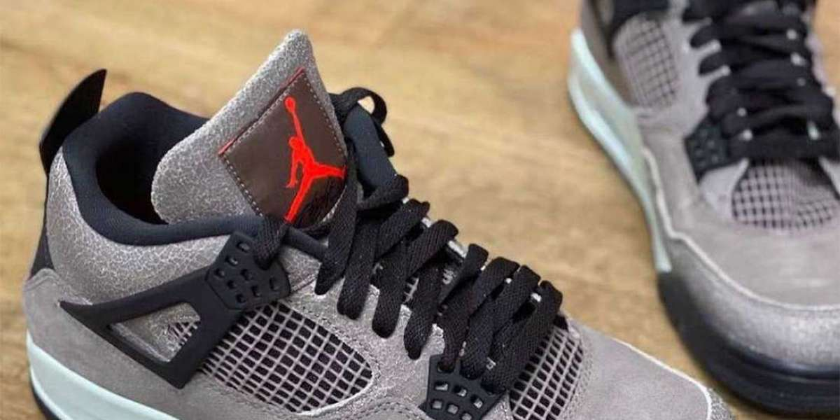 The new Air Jordan 4 is coming soon! The younger brother version of TS joint name!