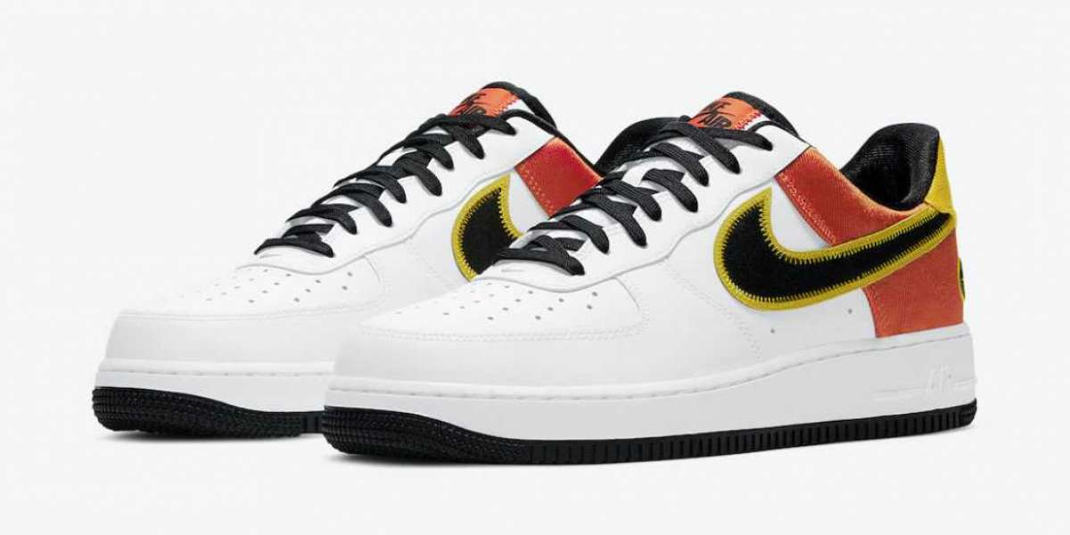 "CU8070-100 Nike Air Force 1 ""Raygun"" will be released on January 2, 2021"
