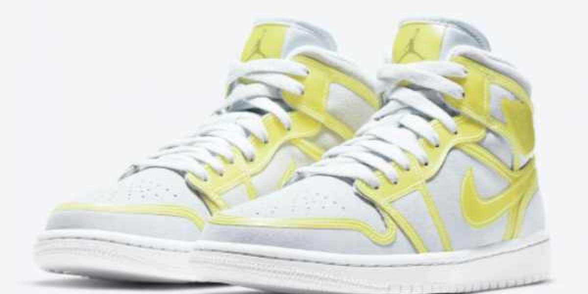 "DA5552-107 Air Jordan 1 Mid LX ""Opti Yellow"" to released on February 26, 2021"