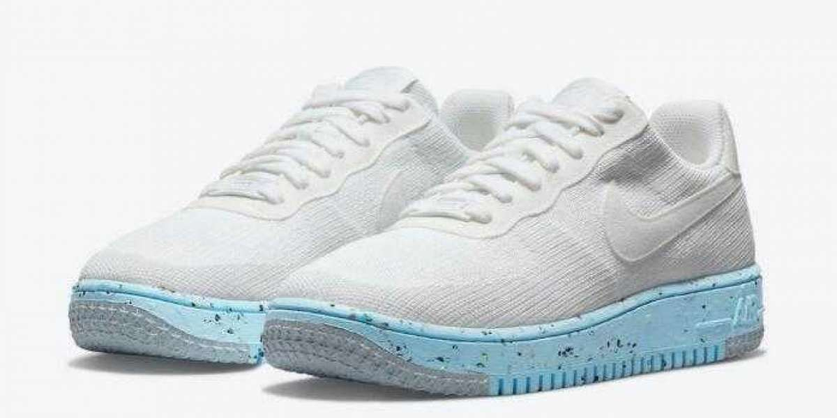 All-White Nike Air Force 1 Crater Flyknit Coming With Recycled Materials