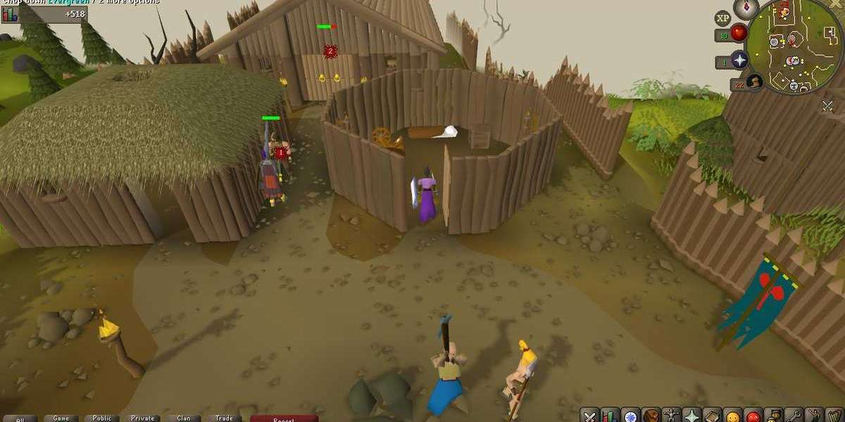 I moved from 65 to 70 atk, also from 25 to 45 slayer