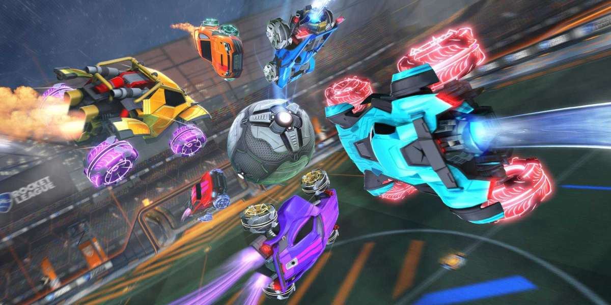 Rocket League has up to eight players assigned