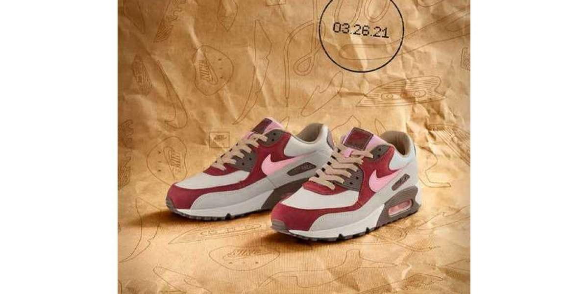 "The sky-high price DQM ""Bacon"" co-branded Air Max 90 will be reissued soon!"